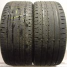 2 2553519 Continental 255 35 19 Sport Contact 2 Part Worn Used Tyres x2