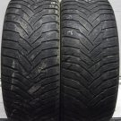 2 2354518 Dunlop 235 45 18 SP Winter Sport M3 Mud Snow Cold Part Worn Tyres x2