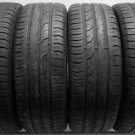 4 1955516 Continental 195 55 16 Part Worn Used 195/55 16 Car Tyres x4 Premium