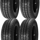 4 2056515 Hifly 205 65 15 Van Commercial NEW Tyres x4 205/65 15 Four 100 / 102