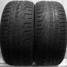 2 2554020 Pirelli 255 40 20 Winter Used Part Worn Tyres x 2 N0 Spec Sottozero