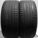 2 2554517 Continental 255 45 17 Used Part Worn Tyres x 2 255/45 17 Sport Contact