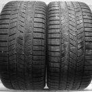 2 2554017 Pirelli 255 40 17 Used Part Worn Tyres x2 255/40 Winter N1 Porsche