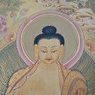 Antique Style Buddha Thangka