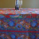 Rectangular Table Cloth featuring Sunflower Clusters