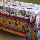 Rectangular Spring Floral Design Table cloth Tapestry