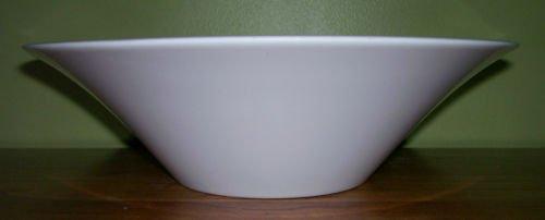 Bowl - Salad - White Melamine - Vintage