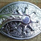 Belt Buckle - Spinning Spur - Vintage 70s