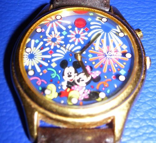 Collector's Mickey and Minnie Mouse Watch - Vintage