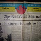 1982 World's Fair-Knoxville Journal Newspaper