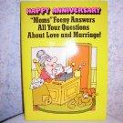 "HAPPY ANNIVERSARY CARD - ""MOM"" FEENY - 1978 - UNUSED"