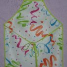 Birthday Party Smock - Wipe Clean Vinyl - Sizes 4-7