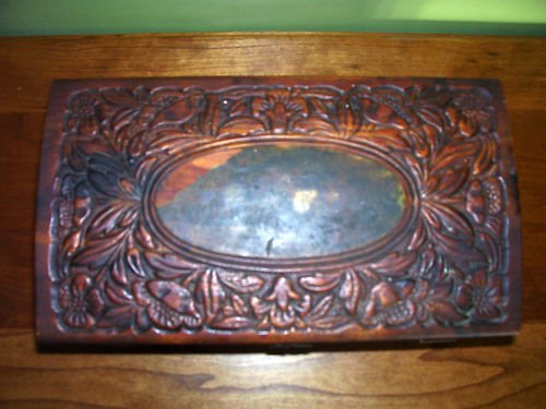 Jewelry Box - Antique - Ornate Carvings