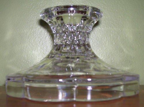 Candle Holder - Lead Crystal - Zajecar- pillar or taper