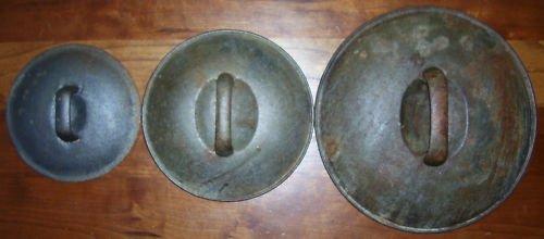 Cast Iron Skillet Lids - 3 sizes