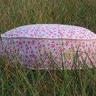 Organic Pink Circular Floral Bed