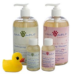 All Natural Dog Conditioning Shampoo Set