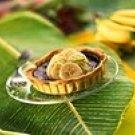 Chocolate Banana and Lime Tart