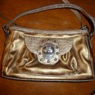 Kathy VanZeeland crossbody gold purse