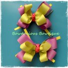 SPRING LILAC bow set pair