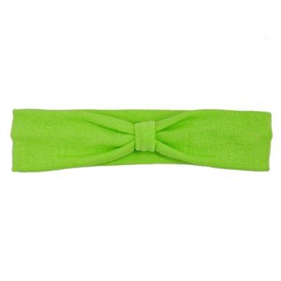 Green Cotton Knit Headband