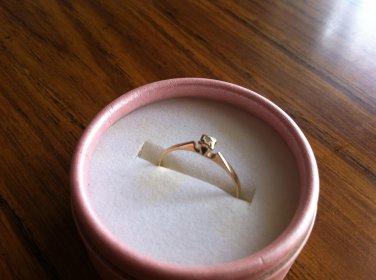 Vintage Estate 9ct/9K SOLID Gold Ladies Ring � Size 6
