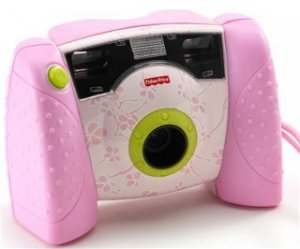 New Pink Fisher Price Digital Camera