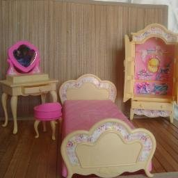 4 Piece Bedroom Set for Barbie