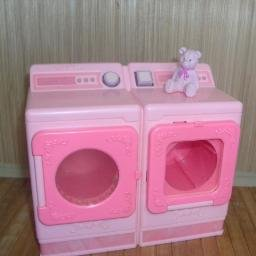 Barbie Washer and Dryer