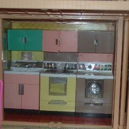 Vintage Deluxe Reading Kitchen 3 Piece Lot for Barbie