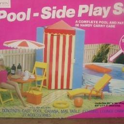 Vintage Sears Pool-Side Play Set for Barbie