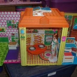 Vintage Barbie Country Home
