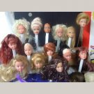 Barbie and Friends Heads Only for OOAK & Reroot