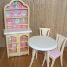 4 Piece Barbie Dining Room Lot