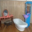 4 Piece Mod Bath Lot For Barbie