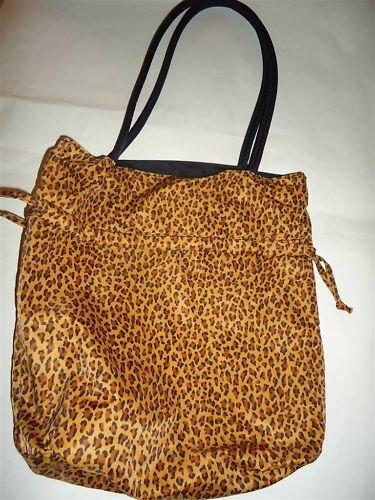 Avon Nylon Reversible Animal Print Bag, Pre-owned