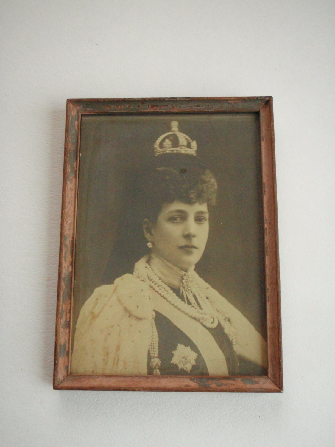 Vintage Queen Alexandra Photo by W. & D. Downey