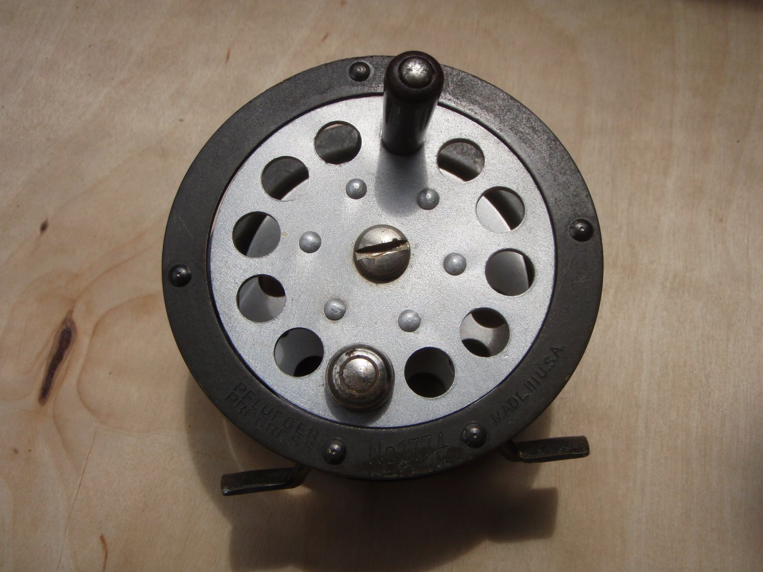 Vintage Pflueger Progress No. 1774 Fly Reel Made in U.S.A.