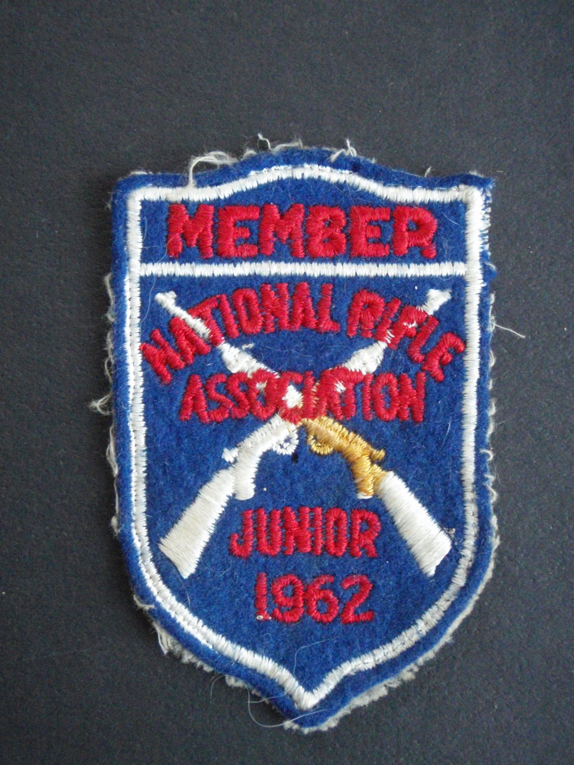 Vintage 1962 National Rifle Asso. Junior Patch