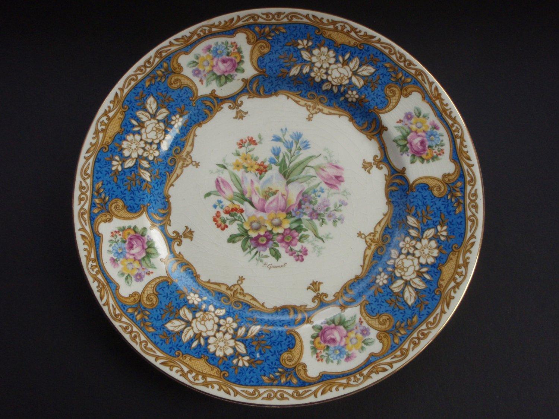 Vintage MYOTTS Royal Crown Stafford-shire England Dinner Plate. 4744