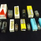 Vintage Vacuum Tubes -- RADIO / TV  *UNTESTED* (9)  Various Sizes. Great for Steampunk projects