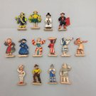 "Commonwealth Plastics ""Dolls of Our World"" Miniature Figurines. 1950's Lot (14)"