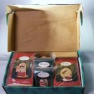 "Hallmark 1997 "" The Night Before Christmas "" 1997 Membership Kit. (4) Ornaments"