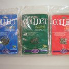 Hallmark 1998 - 25th Anniversary Collection - Collector's Pin Set of 3 -Pewter