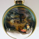 Hallmark 1998 St Nicholas Circle - Thomas Kinkade – Lighted Tree Light Ornament