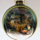 Hallmark 1998 St Nicholas Circle - Thomas Kinkade – Lighted Tree Light Ornament