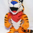 "Tony The Tiger Stuffed Plush Toy Kelloggs Frosted Flakes 1997 9"" Vintage Jointed"