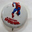 Vintage 1975 Marvel Comics The Amazing Spiderman *Original* Button Pin Pinback