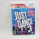Just dance 3 (Nintendo wii, 2011)  Target exclusive edition *Brand New* Sealed