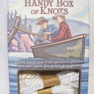 Handy Box of Knots, The by Randy Penn, Knot Kit With Ropes & Book.